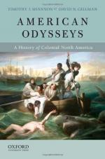 American Odysseys: A History of Colonial North America cover