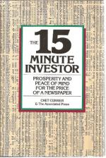 15 Minute Investor Prosperity and Peace of Mind for the Price of a Newspaper  cover