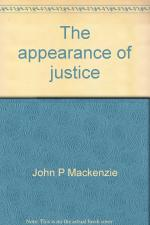 The Appearance of Justice cover