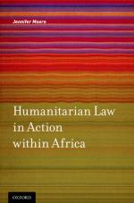 Humanitarian Law in Action within Africa  cover