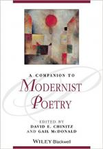 A Companion to Modernist Poetry  cover
