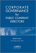 Corporate Governance for Public Company Directors cover