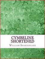 Cymbeline Shortened: Shakespeare Edited for Length cover