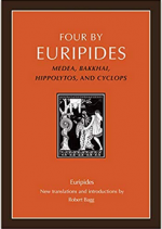 Four by Euripides: Medea, Bakkhai, Hippolytos, and Cyclops cover