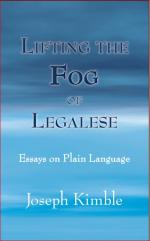 Lifting the Fog of Legalese: Essays on Plain Language cover