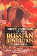 Critical Companion to the Russian Revolution 1914-1921 cover