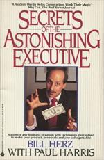 Secrets Of The Astonishing Executive cover