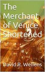 The Merchant of Venice Shortened cover