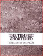 The Tempest Shortened cover