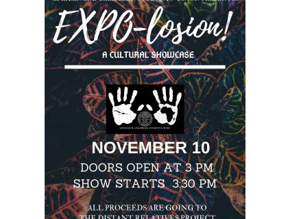 EXPO-losion! event poster