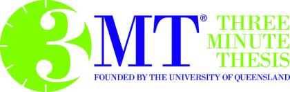3MT: Three Minute Thesis logo