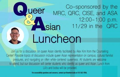 Queer and Asian Luncheon