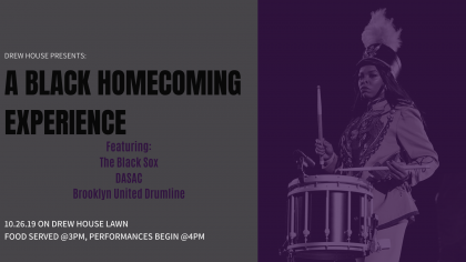 Drew House Presents: A Black Homecoming Experience