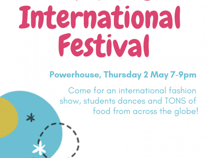 Amherst International Festival: Come for an international fashion show, performances by student dance groups and food from across the globe!