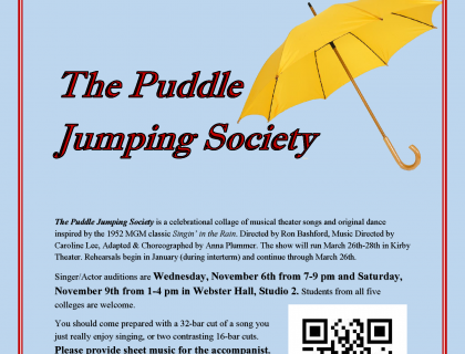 puddle auditions
