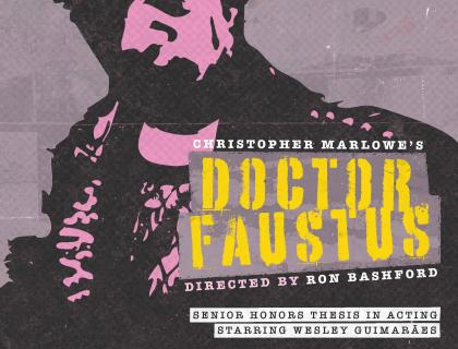 """Doctor Faustus"" poster"