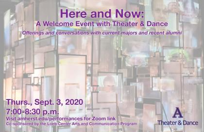Poster image of Here and Now Event