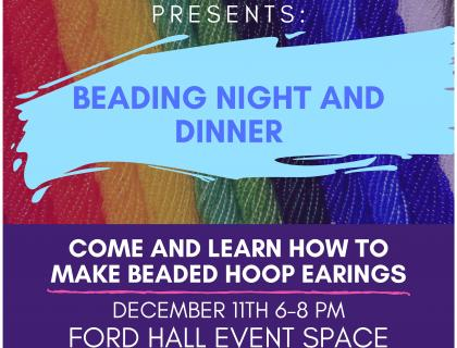 Beading Night and Dinner poster
