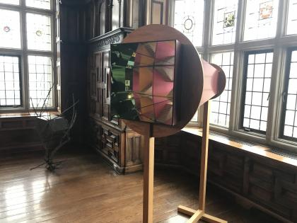 Image of art installation in Rotherwas Room