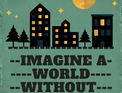 Imagine a World Poster