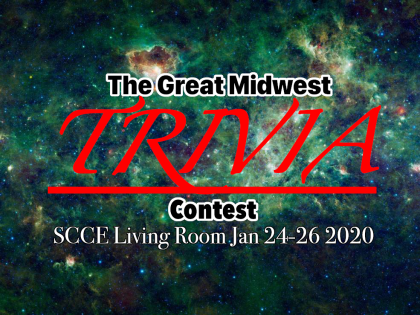 The Great Midwest TRIVIA Contest SCCE Living Room Jan 24-26 2020, over image of the wise Nebula