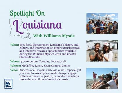 Williams-Mystic Ocean and Coastal Studies Semester