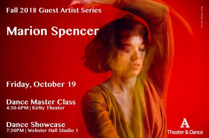 Marion Spencer event poster