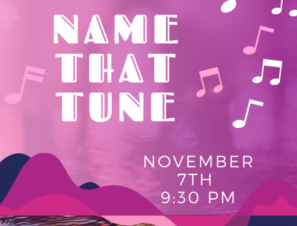 Name That Tune, Schwemms' Pub, November 7, 9:30 p.m.