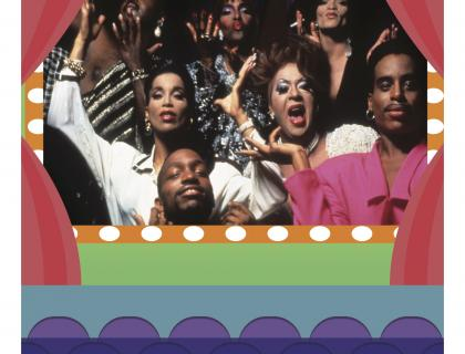 Poster for Paris is Burning
