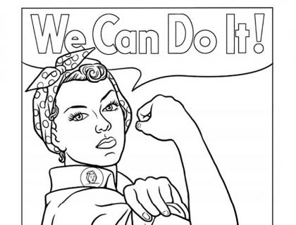 We Can Do It - Rosie the Riveter