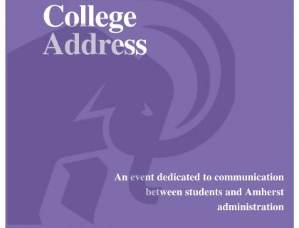 State of the College Address - April 29th at 7pm in Converse Hall