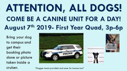 Canine Unit for a Day