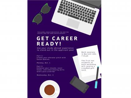 get career ready poster