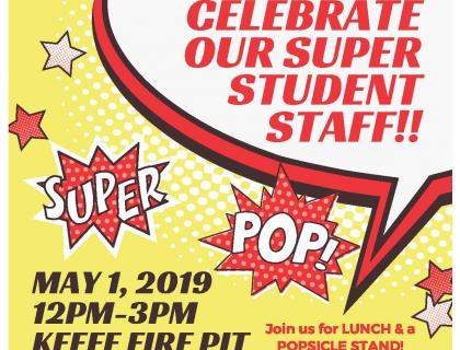Celebrate our super student staff!