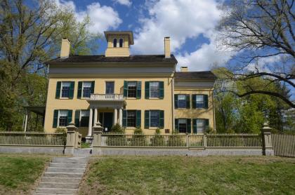 Emily Dickinson's Homestead in springtime