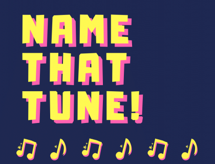 Name That Tune Poster