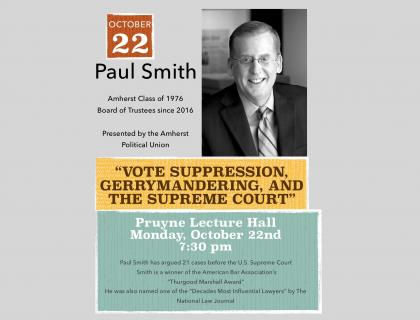 Paul Smith Event Poster