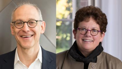 Zeke Emanuel and Biddy Martin