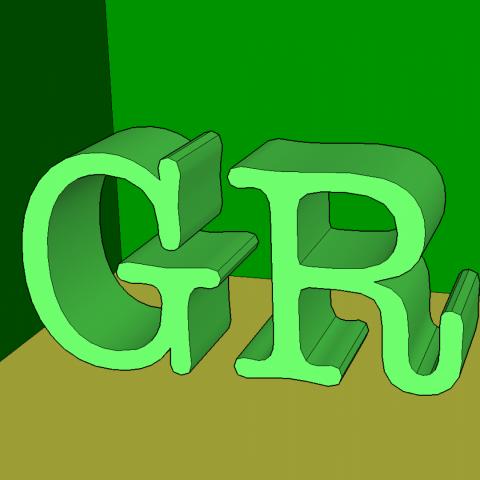 Green Room Logo