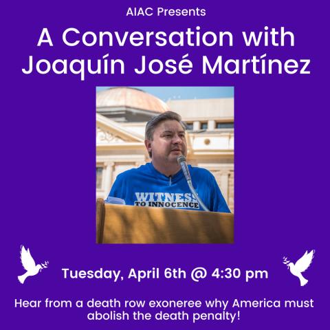 A Conversation with Joaquín José Martínez
