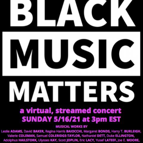 ASO Black Music Matters Poster