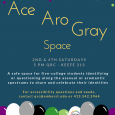 A safe space for five-college students who identify along either the asexual or aromantic spectrum, or who are questioning, to share and celebrate their identities. This week's discussion will focus on ace/aro portrayal in media.