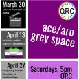 A safe space for Five College students who identify along either the asexual or aromantic spectrum, or who are questioning, to share and celebrate their identities. This week's discussion will focus on ace/aro portrayal in media.