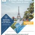 Poster fr IES Abroad info session on February 12th 11-1:30 PM keefe atrium