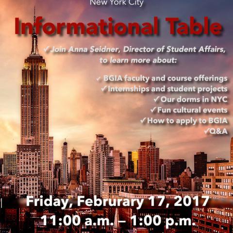 BGIA Info Session