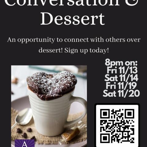Conversation & Dessert