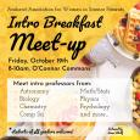 Intro Breakfast Meetup Poster