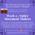DVAM Week 2: Native Movement Makers