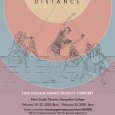 Event poster featuring an illustration of people onstage, dancing within different-colored concentric circles