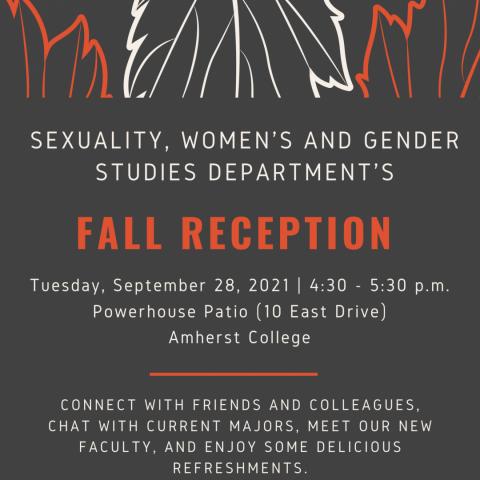SWAGS Fall Reception invitation